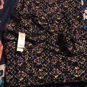 Women's lularoe tc leggings new with no tags